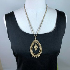 Vintage 70s Gold Toned Necklace Sarah Coventry